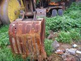 Máquina escavadora usada de Kobelco Sk04WD, máquina escavadora da roda de Kobelco
