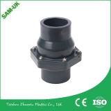 공장 공급 UPVC 벨브, PVC PVC 이음쇠 Pn10, Pn16를 위한 단 하나 조합 공 벨브, 소켓 또는 스레드