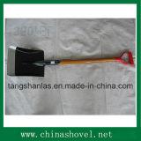 Лопата лопаткоулавливателя ручки ручного резца сада лопаты деревянная