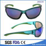플라스틱 프레임을%s 가진 Soflying 순환 운영하는 랩어라운드에 의하여 극화되는 색안경