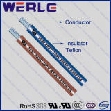 Calibre de diâmetro de fios 1592 do UL 26 Teflon Insulated Stranded 300V Wire