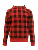 Mens는 전면 인쇄 뜨개질을 한 Sweatershirt를 모양 짓는다