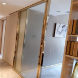 Канал нержавеющей стали u изготовления металла материала зданий для стеклянного украшения шкафа рамки