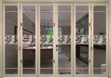 Porte de pliage en aluminium de couleur blanche de mode pour la partition de bureau