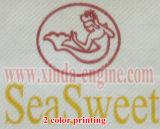 Serviette-Gewebe-Gerät geprägte Papierserviette-faltende Maschine