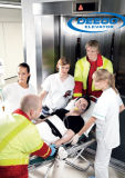 Elevador médico del hospital de la apertura lateral