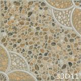Rustikaler Cobbled Steinbodenbelag-Parkett-Fußboden für Garten-Dekoration (300X300mm)