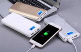 USB duel chargeant le chargeur de batterie portatif de côté de pouvoir de 20000 heures-milliampère de l'étalage précis de torche d'écran LCD pour le téléphone mobile