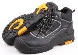 Zapato de seguridad de acero de goma del casquillo del dedo del pie de Outsole (SN5177)