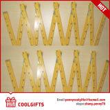 72 '' 12 coloridos plegable la regla de plegamiento de madera para el regalo de la Navidad