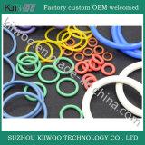 Verbindingen van de O-ring van het Silicone van de Rang van het voedsel de Vlakke Rubber