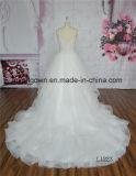 Vestido de esfera do vestido de casamento do baile de finalistas da forma
