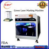 máquina interna del grabador del laser del verde 3D para el vidrio del grabado