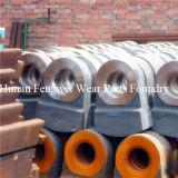 Martelo elevado especializado do triturador do ferro de molde do cromo da produção