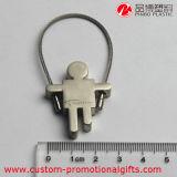 Sostenedor dominante de Keychain del metal barato del puente del regalo de la promoción