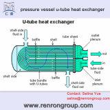 組合せの物質的な産業U字型チューブの熱交換器E-03のためのChinese Group Corporation
