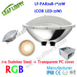 Éclairage LED de piscine de Lf-PAR56b-1*25W (ÉPI LED-25W), éclairage LED simple de couleur de piscine