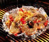 焙焼の海食糧のための1235 0.010mmの食品等級の世帯のアルミホイル