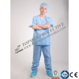 El doctor disponible Scrub, el doctor no tejido Scrub Suits de SMS