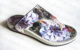 2016の女性のサンダルのスリッパPUの双安定回路の靴(RF16240)