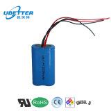 bloco recarregável da bateria de íon de lítio de 1s2p 3.7V (4400mAh) para o Massager