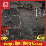 caldeira de vapor Gas-Fired da água 4t quente para industrial
