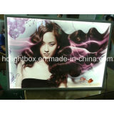 Curved Aluminum Snap Frame Advertising LED Light Box
