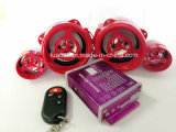 Audio sistema di allarme del motociclo MP3