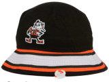 3D刺繍が付いている方法デザイン高品質のバケツの帽子