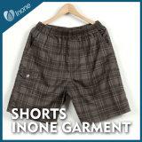 Inone 059 Mens feitos sob encomenda nada calças curtas dos Shorts ocasionais da placa
