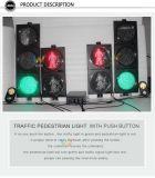 Nuovo semaforo pedonale del Portable 300mm LED del pulsante di arrivo