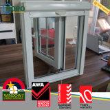 Конструкция стеклянного окна Casement обеспеченностью UPVC пластичная французская для домов