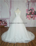 セクシーなスパゲッティレースは最も遅く婚礼衣裳を設計した