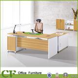 Moderne Gestionnaire Desk Office Mélamine pour Président Directeur Superviseur