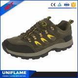 Zapatos de seguridad de goma del deporte del casquillo de acero con estilo de la punta únicos Ufa069