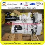 6 Motor van de Boot van cilinders de Turbo Binnenwaartse (Cummins 6CTA8.3)