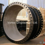 Flansch Pipe mit Puddle Flange