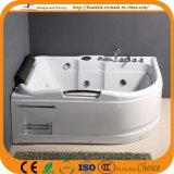 Baignoire populaire de tourbillon hydraulique acrylique de massage (CL-388)