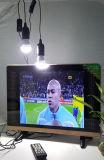 Televisione di colore di CC di energia solare con gli indicatori luminosi per l'Africa