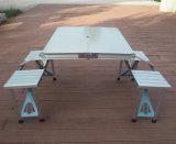 휴대용 픽크닉 테이블을 접히는 알루미늄