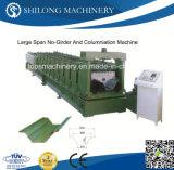 機械を形作るセリウムによって承認される波形を付けられたカラー鋼鉄ステップ屋根瓦の壁パネルロール