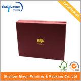 Caja de regalo de sellado caliente de encargo de la insignia (QYZ015)