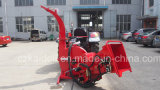 油圧Feed 250mm Chipper Two Bracckets Tractor Wood Chipper