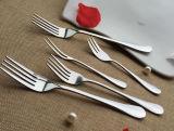 Fourchette d'acier inoxydable et ensemble de couteau
