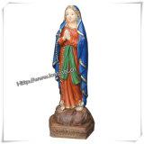 Statua religiosi, la statua della chiesa, Figura intaglio (IO-CA015)
