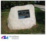 성격 돌 장식적인 화장 항아리 기념탑은 묘석을 흔든다