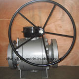 L'ANSI ha forgiato la valvola a sfera fissa d'acciaio della turbina