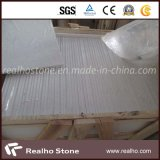 Artificial popular White Quartz Stone para a bancada/Flooring