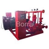 Equipamento de fonte de água diesel do fogo