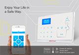 Alarme de assaltante inteligente da segurança Home da rede dobro da G/M e do PSTN com função de Bell de porta